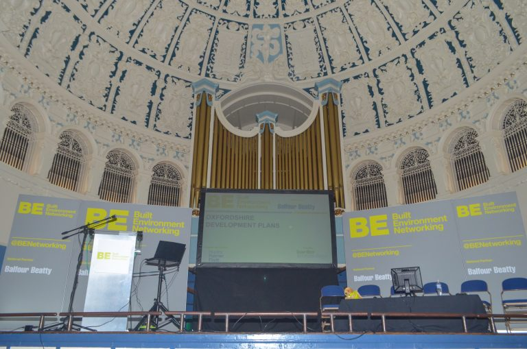 Built Environment Networking - conference at Oxford Town Hall