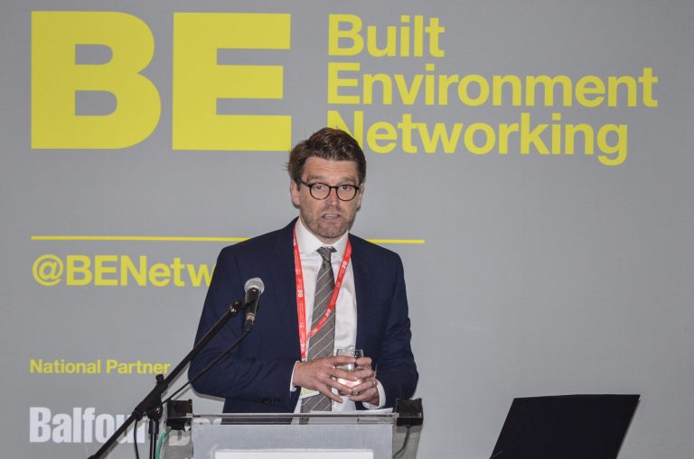 Tom Bridgman of Oxford City Council speaks at Oxfordshire Development Plans 2019