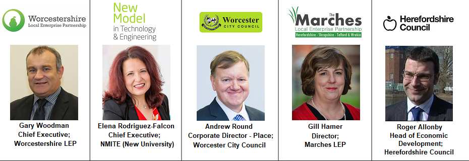 Speakers Worcester II Herefordshire Roger Allonby Andrew NMITE New Model University Technology Engineering