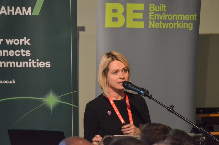 Tamsin Hart-Jones York Central Partnership speaks at York Development Plans 2019