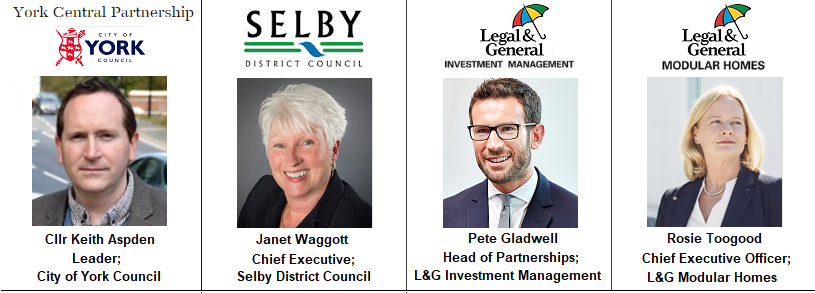 York Speakers Legal General Modular Investment Management Selby York
