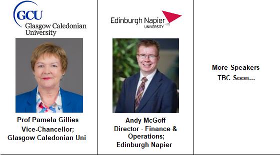 Speakers University Glasgow Caledonian Estates Campus Property FM Facilities Management Andy McGoff Edinburgh Napier