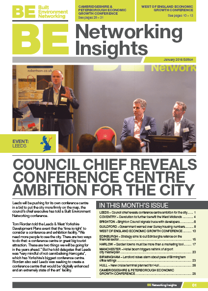 For information on our events & to receive the BE Networking Insights January 2018 edition ABSOLUTELY FREE