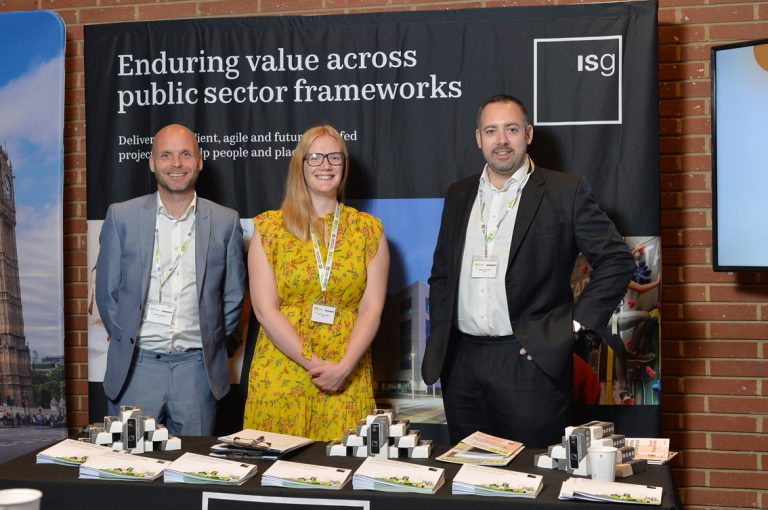 ISG Partnered Networking EventConstruction Frameworks Conference, Kensington Town Hall. 02.10.19