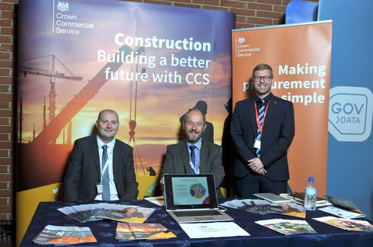 Crown Commercial Service Construction Frameworks Conference, Kensington Town Hall. 02.10.19