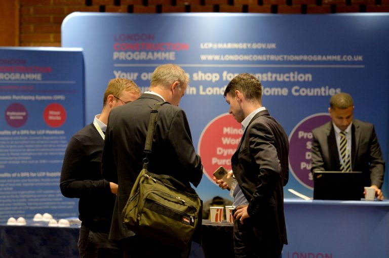London Construction Programme Partnered Networking Event Construction Frameworks Conference, Kensington Town Hall. 02.10.19