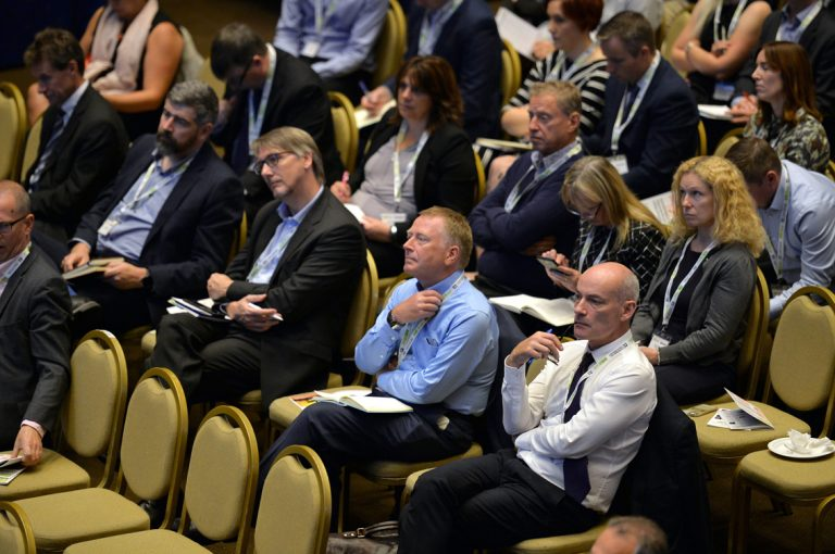 Crowd of Construction Frameworks Conference, Kensington Town Hall. 02.10.19
