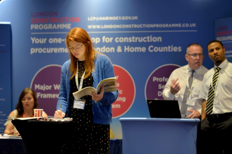 London Construction programme Construction Frameworks Conference, Kensington Town Hall. 02.10.19