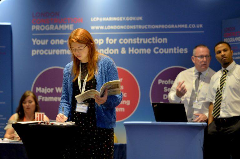 London Construction programme Construction Frameworks Conference, Kensington Town Hall. 02.10.19