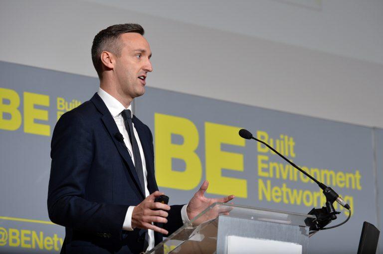 Robbie Blackhurst of Procure Partnerships Frameworks Construction Frameworks Conference, Kensington Town Hall. 02.10.19