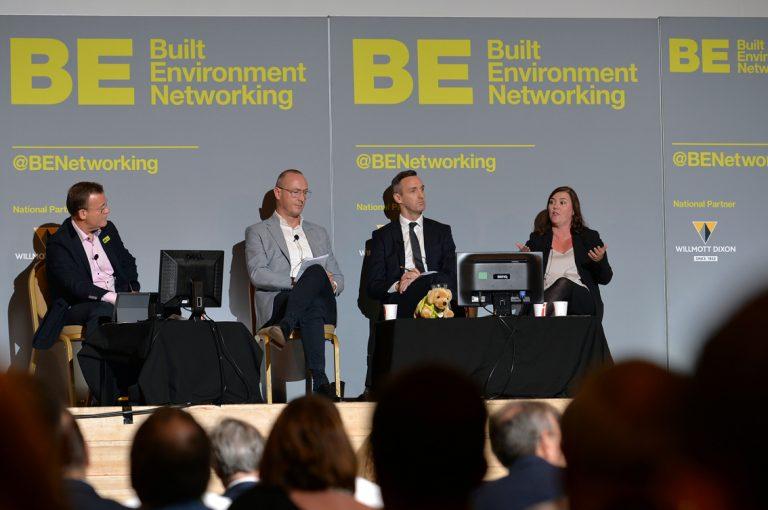 Frameworks Providers Panel, Lisa Bliss, Robbie Blackhurst and Simon Toplass Construction Frameworks Conference, Kensington Town Hall. 02.10.19