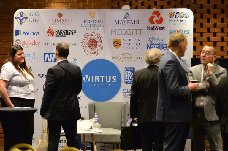 Virtus Partnered Networking Event Construction Frameworks Conference, Kensington Town Hall. 02.10.19