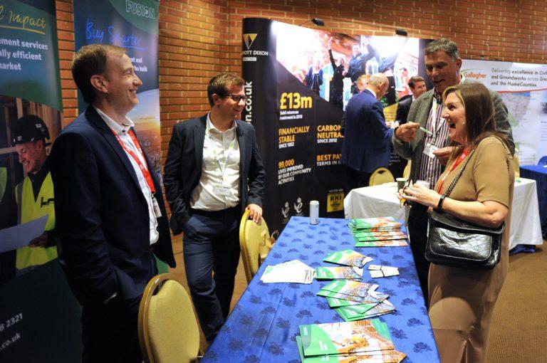 Willmott Dixon Partnered Networking Event Construction Frameworks Conference, Kensington Town Hall. 02.10.19