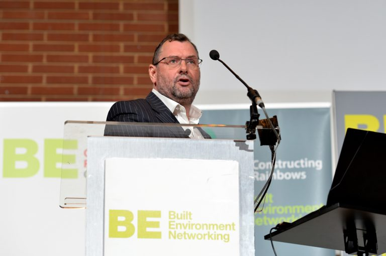 Adam Smith of Guy's and St Thomas' Charitable Trust Construction Frameworks Conference, Kensington Town Hall. 02.10.19