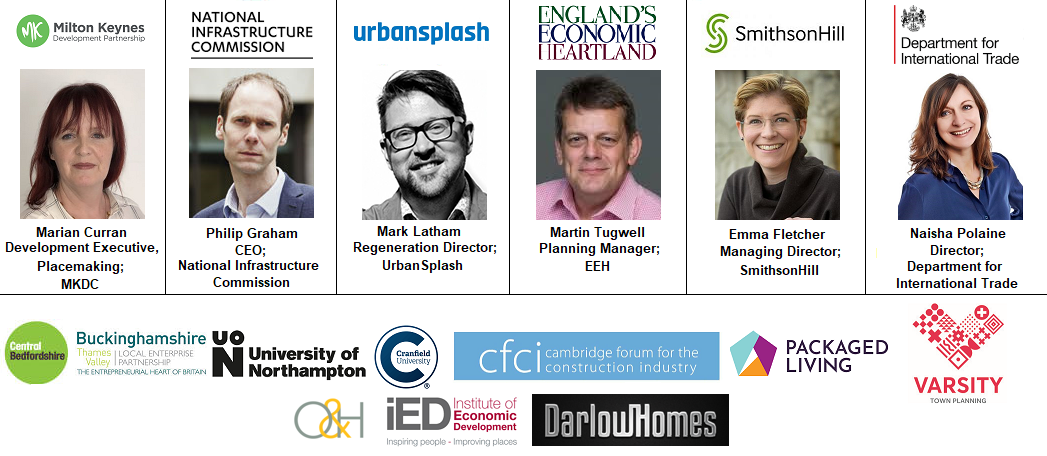 Speakers Englands Economic Heartland Cambridge Cranfield University IED Institute Development Darlow