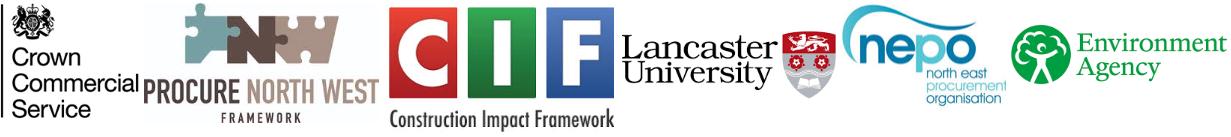 Construction Frameworks Procurement Logos