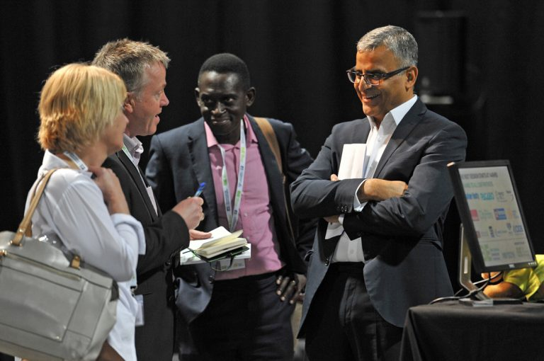Attendees-discuss-the-day-at-West-Yorkshire-Development-Conference