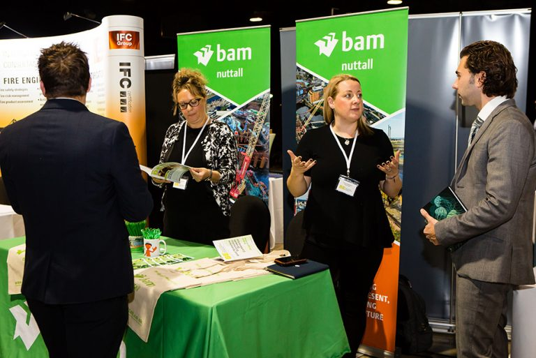 BAM Construction Stand at West Yorkshire Economic Growth Conference 2018