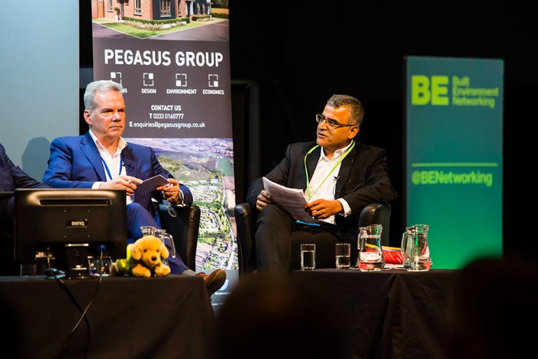 Barry White and Naz Parkar West Yorkshire Economic Growth Conference 2018