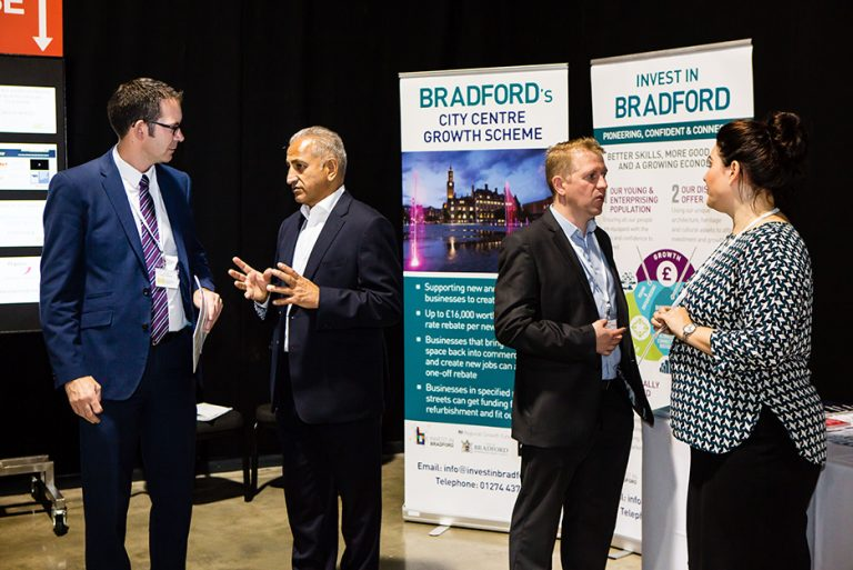 Bradford City Council Stand at West Yorkshire Economic Growth Conference 2018