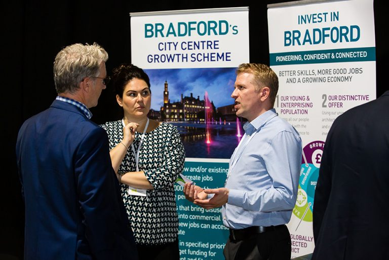 Bradford City Council Stand with Attendees