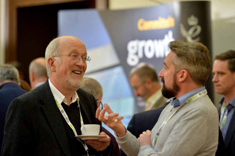Networking in Cambridge Cambridgeshire & Peterborough Development Conference 2019