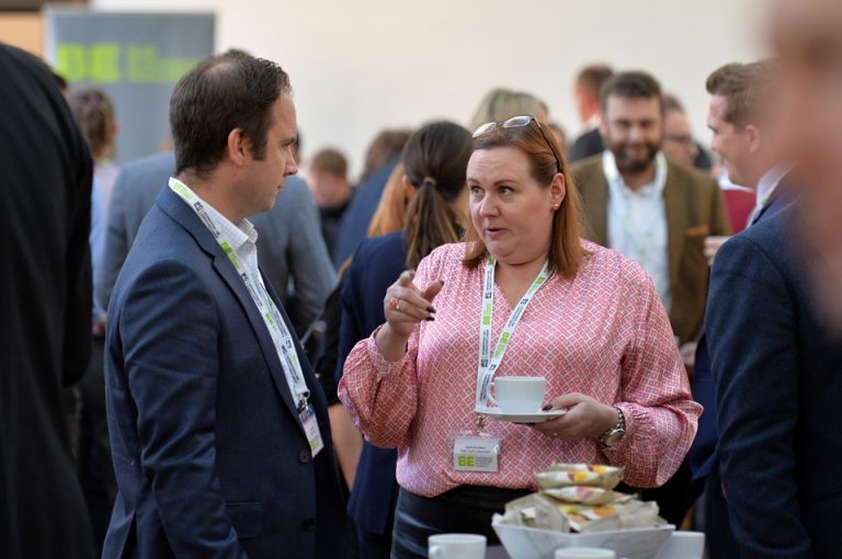 Attendee's networking at Cambridgeshire & Peterborough Development Conference 2019