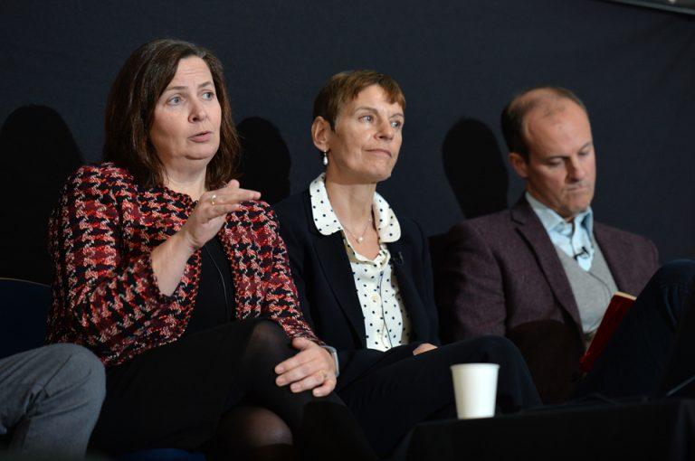 Rachel Stopard, Noelle Godfrey and Jonathan Oates