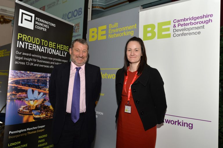 Penningtons Manches Cooper at Cambridgeshire & Peterborough Development Conference 2019