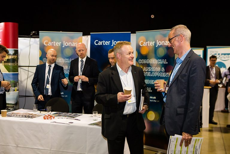 Carter Jonas Stand at West Yorkshire Economic Growth Conference 2018
