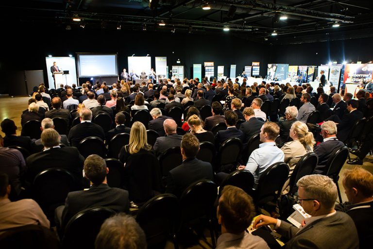 Crowd at West Yorkshire Economic Growth Conference 2018