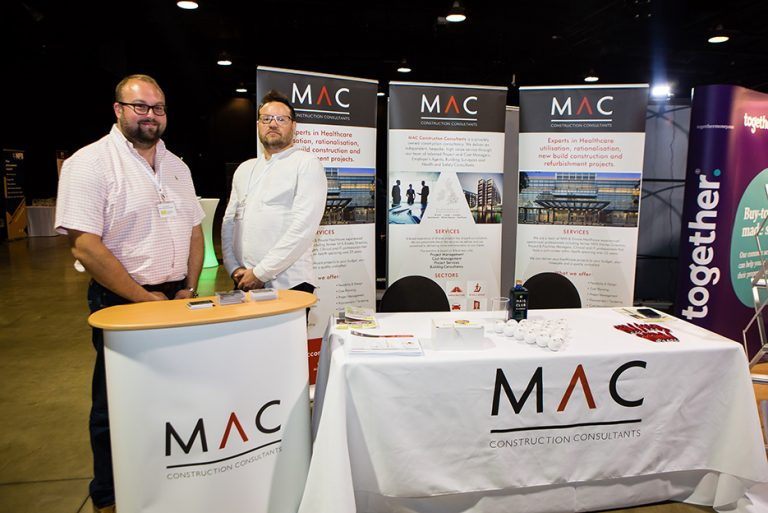 MAC Construction Consultants Stand at West Yorkshire Economic Growth Conference 2018