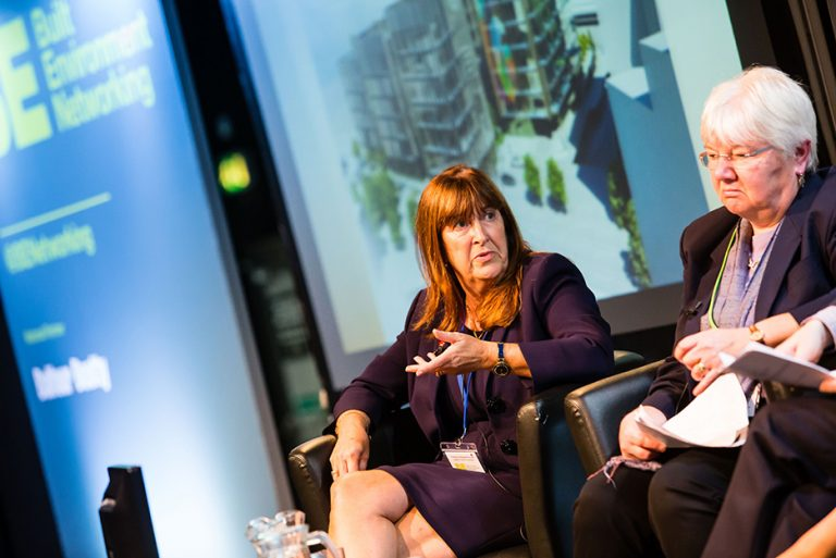 Margaret House and Liz Towns-Andrews at West Yorkshire Economic Growth Conference 2018