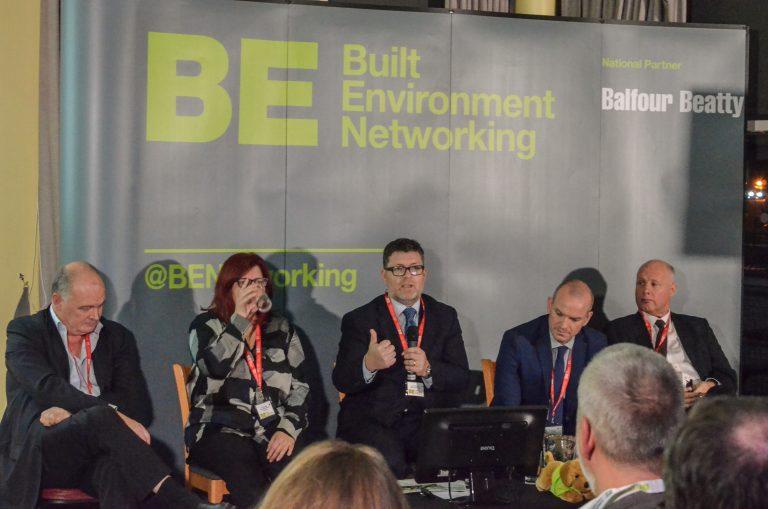 Mark Ashall, Julie Gilhespie, Richard Scott, Stephen Brown and Tony Parkinson