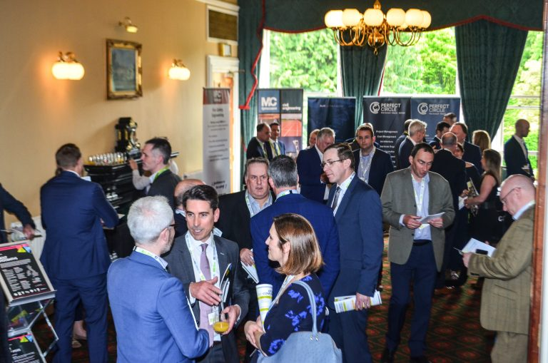 Networking event in Belfast Castle