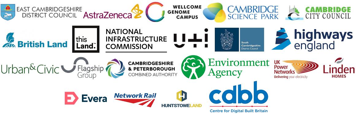 CBDD Centre Digital Built Britain University Cambridge Combined Authority Science Park AstraZeneca Network Rail Huntstowe Land