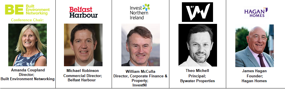 Speakers 1 Belfast North Ireland James Hagan Homes Residential Belfast NI Northern Ireland Invest Investment InvestNI Bywater Properties Harbour Port