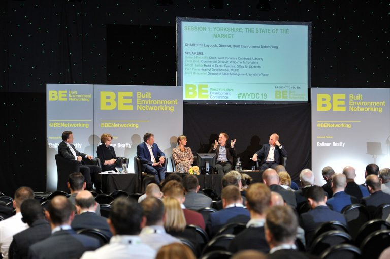 The-stage-and-the-first-panel-at-West-Yorkshire-Development-Conference-2019