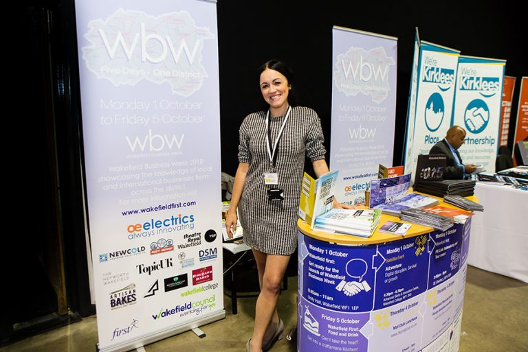 WBW Stand at West Yorkshire Economic Growth Conference 2018