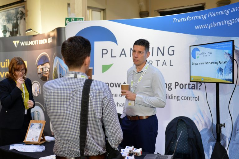Planning Portal welcome guests at West of England Development Conference 2019