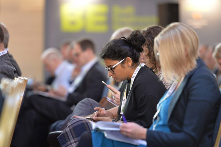 Attendee's at the West of England Development Conference, Bristol.08.10.19