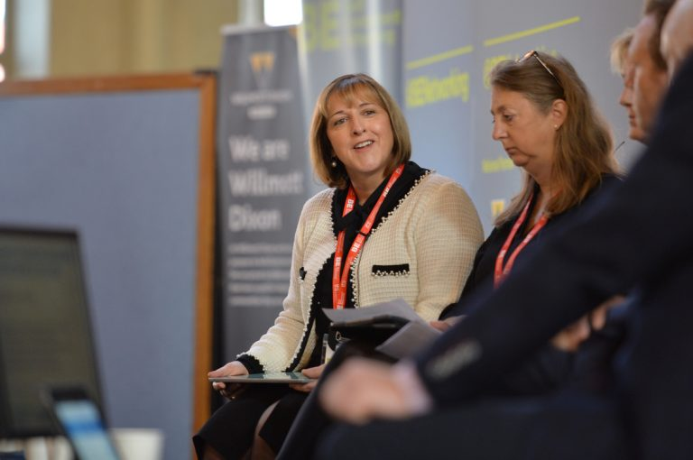 Claire Pearce of This is GravityWest of England Development Conference, Bristol.08.10.19