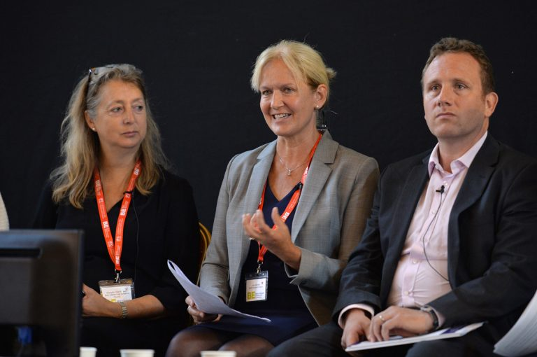 Lucy Shomali, Dine Romero and Edward Rowberry at West of England Development Conference, Bristol.08.10.19