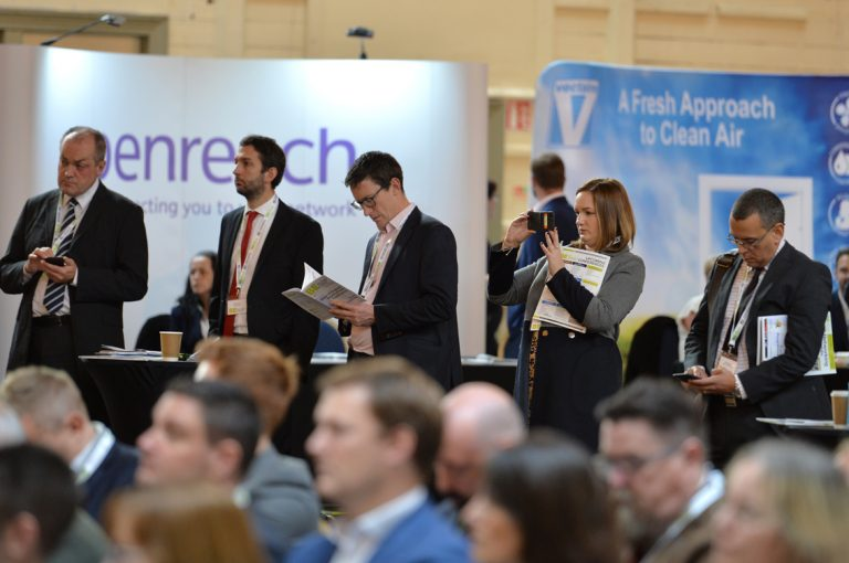 Attendee's watch the discussions unfold from the back at West of England Development Conference, Bristol.08.10.19