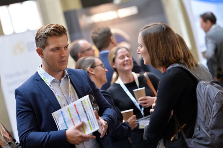 Swapping of business cardsWest of England Development Conference, Bristol.08.10.19