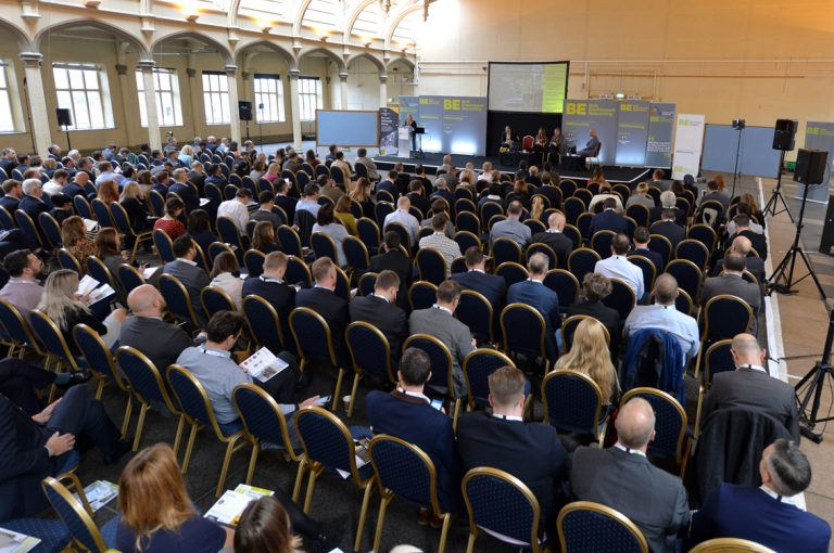 The Crowd from behind the chairs Construction Networking West of England Development Conference, Bristol.08.10.19