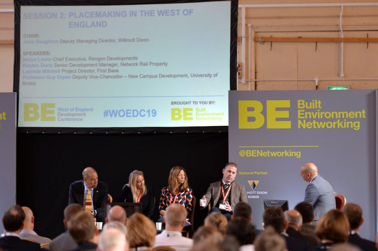 The Placemaking Panel at West of England Development Conference, Bristol.08.10.19