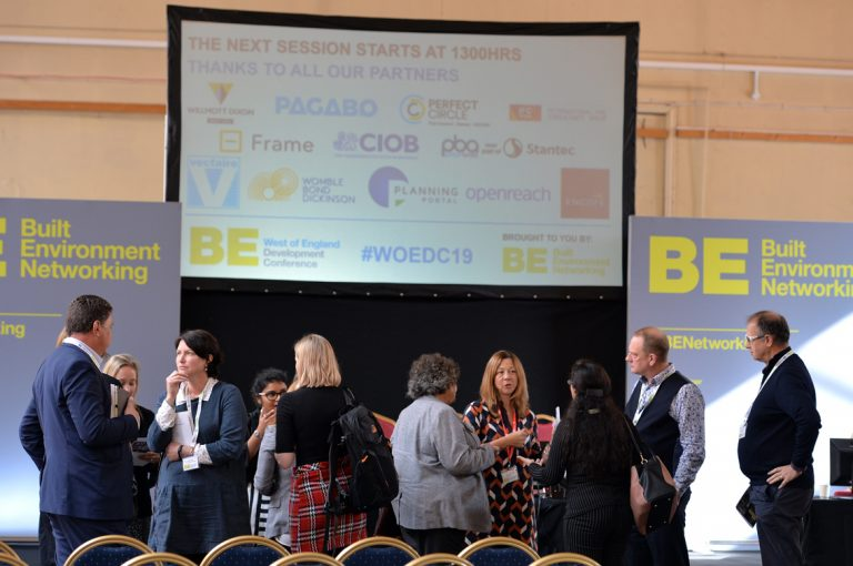 Construction Based Networking for the Built Environment West of England Development Conference, Bristol.08.10.19