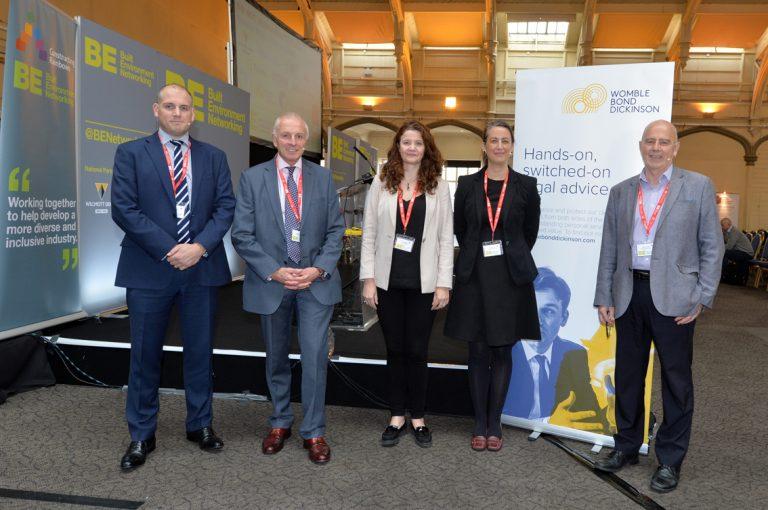 Vicki Redman, Kelly Hillman, David Eccles, Tim Laverye and Derek Parody atWest of England Development Conference, Bristol.08.10.19