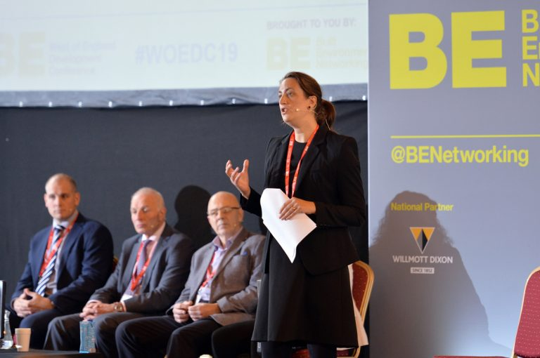 Vicki Redman of Womble Bond Dickinson West of England Development Conference, Bristol.08.10.19